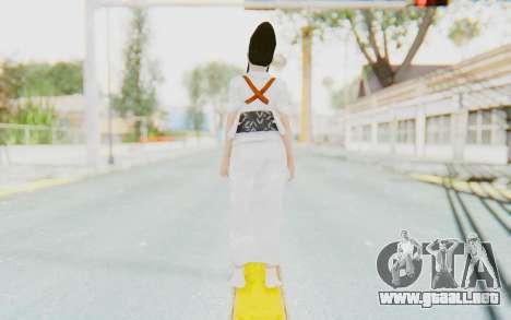 Kazumi Mishima para GTA San Andreas tercera pantalla