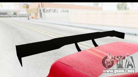 Elegy KraZ Edition Beta 0.8.5 para GTA San Andreas vista hacia atrás