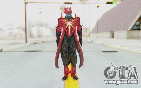 Devil May Cry 4 - Dante Demon para GTA San Andreas segunda pantalla