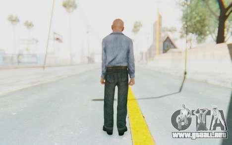 Mafia 2 - Jimmy Prison para GTA San Andreas tercera pantalla