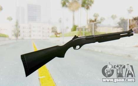 Remington 870 para GTA San Andreas segunda pantalla