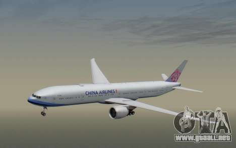 Boeing 777-300ER China Airlines para GTA San Andreas