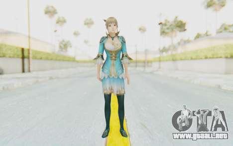Dynasty Warriors 8 - Wang Yuanji para GTA San Andreas segunda pantalla