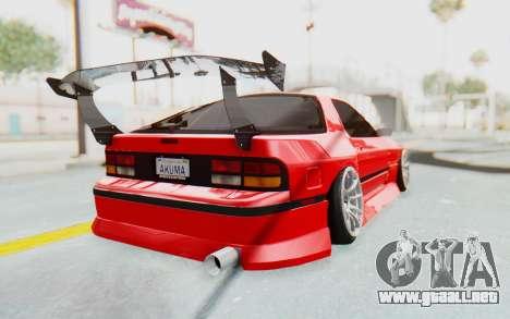 Mazda RX-7 FC3S BN Sport para la visión correcta GTA San Andreas