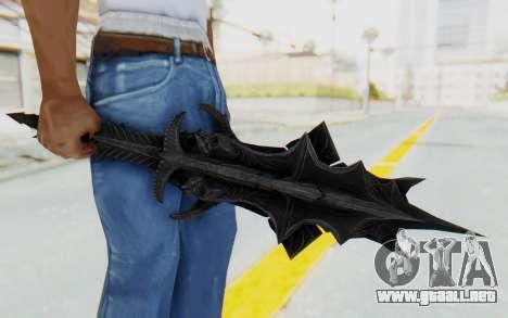 Mace of MolagBall para GTA San Andreas tercera pantalla