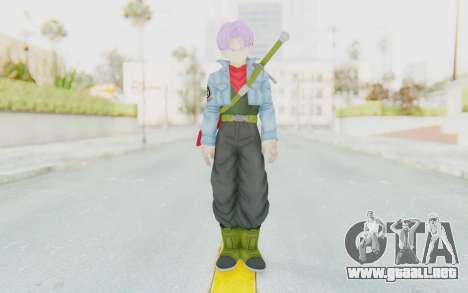 Trunks Del Futuro v2 para GTA San Andreas segunda pantalla