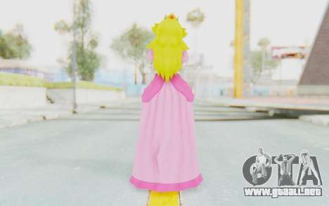 Princess Peach para GTA San Andreas tercera pantalla