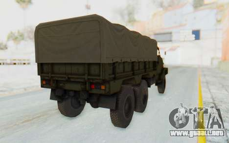 MGSV Phantom Pain BOAR 53CT Truck Roof para la visión correcta GTA San Andreas