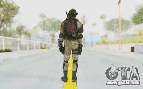 Federation Elite SMG Desert para GTA San Andreas tercera pantalla