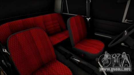 VAZ 2106 Vagabundo para la visión correcta GTA San Andreas
