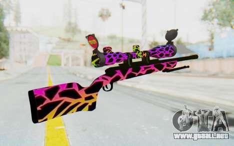 Sniper para GTA San Andreas segunda pantalla