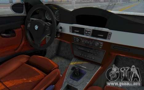 BMW M3 E92 Liberty Walk LB Performance para visión interna GTA San Andreas