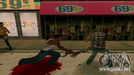 Prince Of Persia Water Sword para GTA San Andreas segunda pantalla