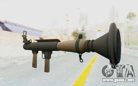 Rocket Launcher from TF2 para GTA San Andreas segunda pantalla