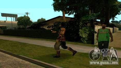 Prince Of Persia Warrior Within para GTA San Andreas sucesivamente de pantalla