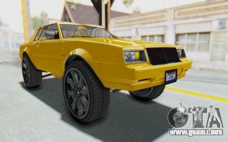 GTA 5 Willard Faction Custom Donk v1 IVF para la visión correcta GTA San Andreas