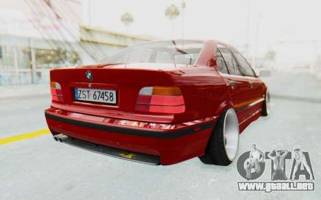 BMW M3 E36 2.5 TDS para la visión correcta GTA San Andreas