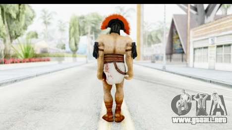 God of War 3 - Hercules v1 para GTA San Andreas tercera pantalla