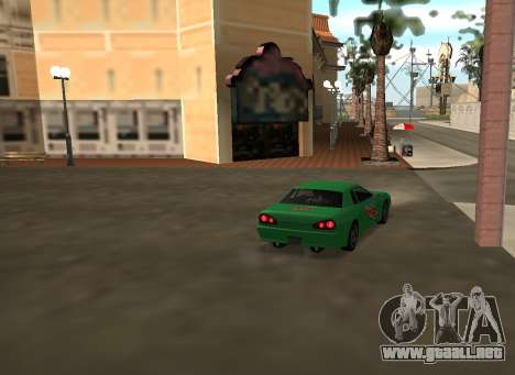 New vinyls for Elegy para visión interna GTA San Andreas