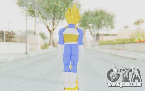 Dragon Ball Xenoverse Vegeta Android Saga SSJ para GTA San Andreas tercera pantalla