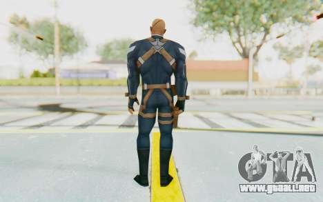 Marvel Future Fight - Nick Fury para GTA San Andreas tercera pantalla