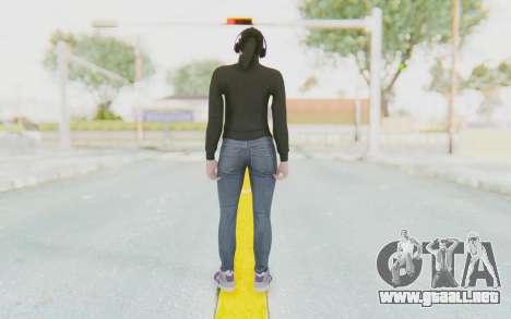 GTA Online Skin Female para GTA San Andreas tercera pantalla