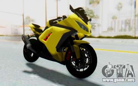 Kawasaki Ninja 250 Abs Streetrace v2 para la visión correcta GTA San Andreas