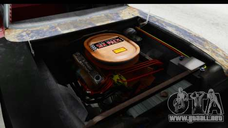 Dodge Charger Daytona F&F Bild para visión interna GTA San Andreas