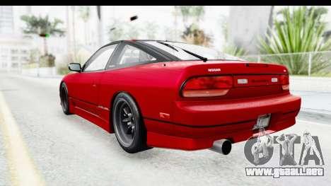 Nissan 240SX 1989 v1 para GTA San Andreas left