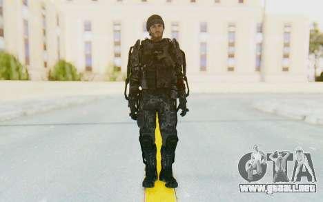 CoD Advanced Warfare Gideon para GTA San Andreas segunda pantalla