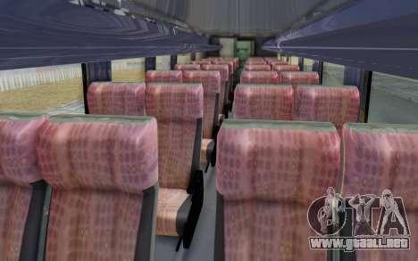 Marcopolo Inforana Bus para GTA San Andreas vista hacia atrás