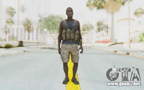 CoD MW3 Africa Militia v2 para GTA San Andreas segunda pantalla