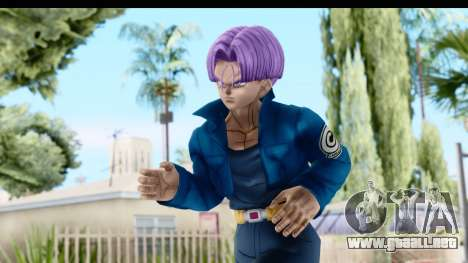 Dragon Ball Xenoverse Future Trunks SJ para GTA San Andreas