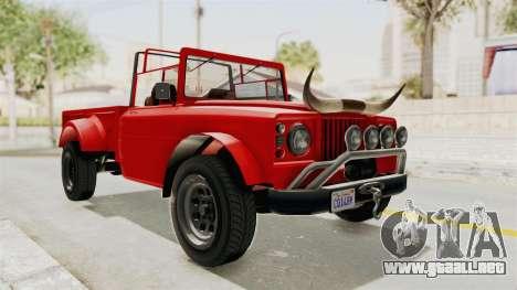 GTA 5 Canis Bodhi IVF para GTA San Andreas