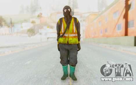 The Division Cleaners - Incinerator para GTA San Andreas segunda pantalla