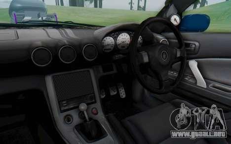Nissan Silvia S15 Monster Truck para visión interna GTA San Andreas