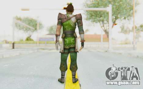 Dynasty Warriors 8 - Guan Su para GTA San Andreas tercera pantalla