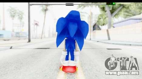 Dreamcast Sonic para GTA San Andreas tercera pantalla