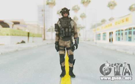 Federation Elite Assault Desert para GTA San Andreas segunda pantalla