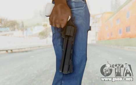 Revolver from TF2 para GTA San Andreas tercera pantalla