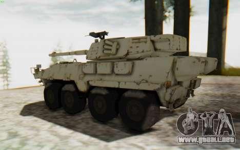 MGSV Phantom Pain STOUT IFV APC Tank v1 para GTA San Andreas left