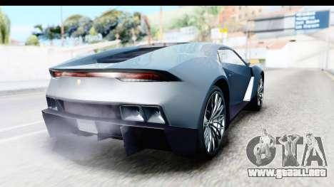 GTA 5 Pegassi Reaper v2 para GTA San Andreas left