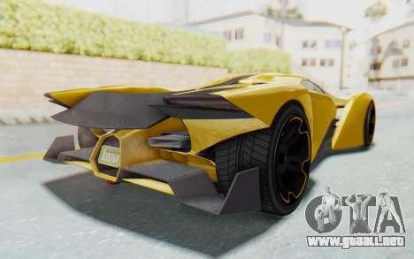 GTA 5 Grotti Prototipo v2 IVF para la visión correcta GTA San Andreas