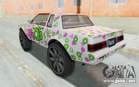GTA 5 Willard Faction Custom Donk v1 IVF para las ruedas de GTA San Andreas