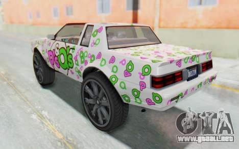 GTA 5 Willard Faction Custom Donk v1 para las ruedas de GTA San Andreas
