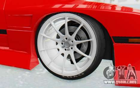 Mazda RX-7 FC3S BN Sport para visión interna GTA San Andreas