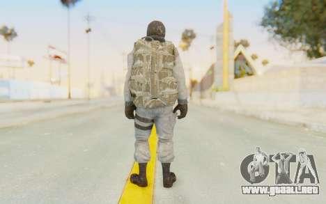 COD BO Bruce Harris Winter para GTA San Andreas tercera pantalla