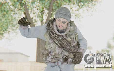 COD BO Grigori Weaver Winter para GTA San Andreas