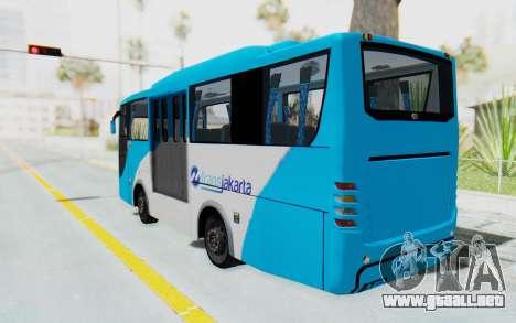 Hino Evo-C Transjakarta Feeder Bus para GTA San Andreas left