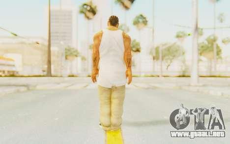 Def Jam Fight For New York - Xzibit para GTA San Andreas tercera pantalla